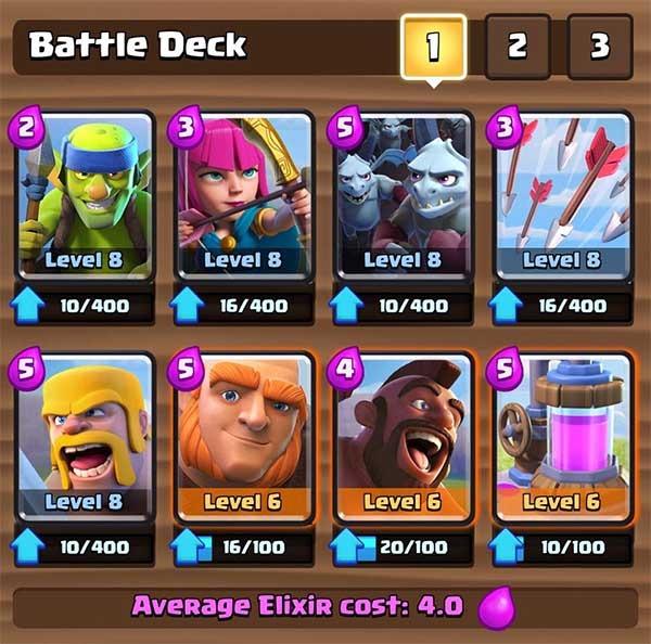 clash royale equilibrio