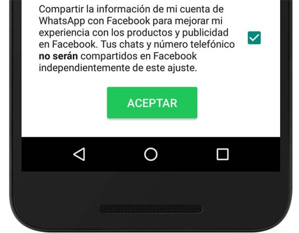 whatsapp facebook datos