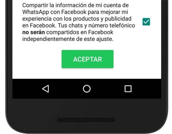 whatsapp facebook datos