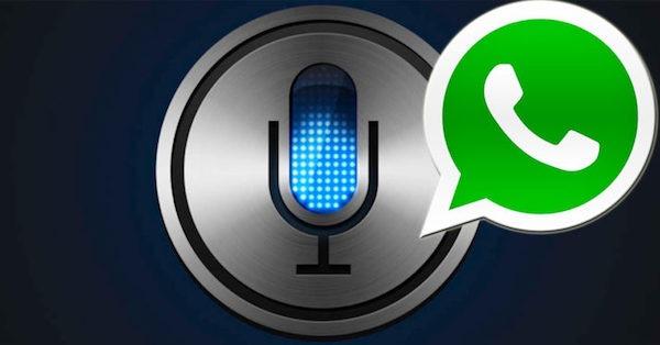 WhatsApp para iOS se integra con Siri