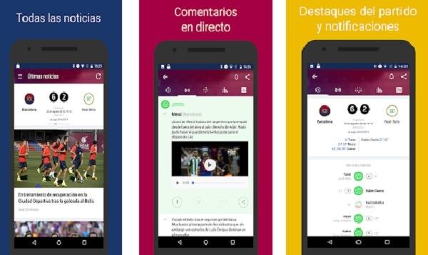 Barcelona Live, la app con noticias, datos y horarios del F.C. Barcelona