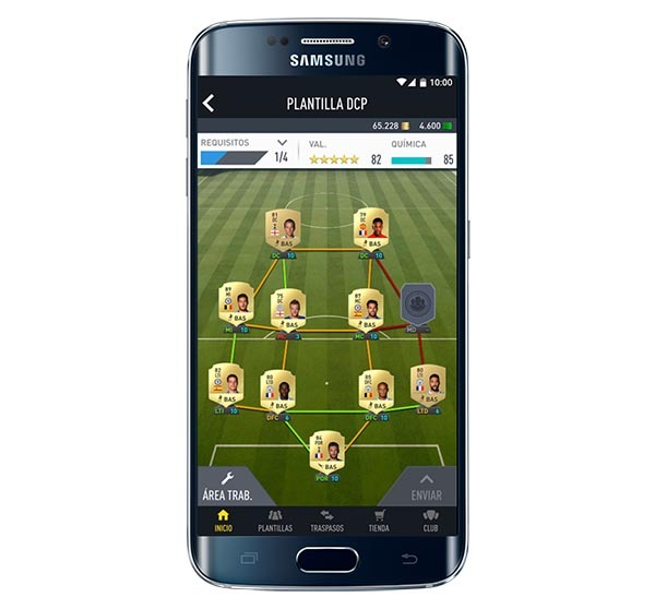 FIFA 17, la app para llevar tu club FIFA Ultimate Team a cualquier lugar