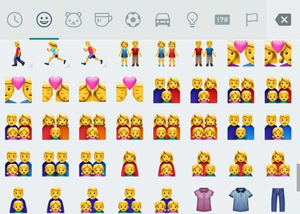 Así son los nuevos emoticonos Emoji de WhatsApp - tuexpertoapps.com