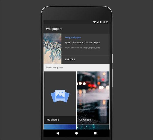 Wallpapers, la app oficial de fondos de pantalla de Google