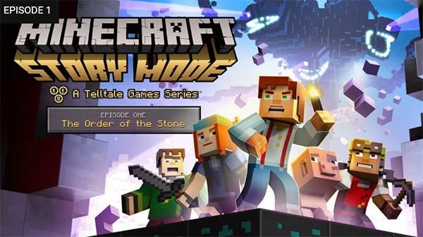 Minecraft Story Mode ya se puede descargar gratis