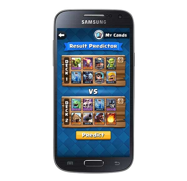 app predictor de clash royale