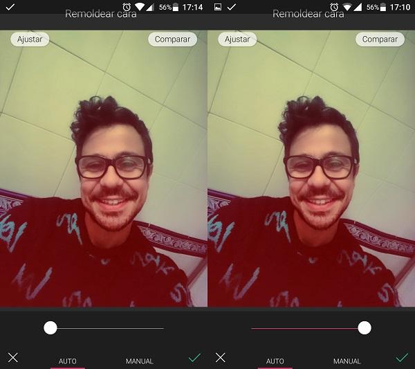 contouring antes y después