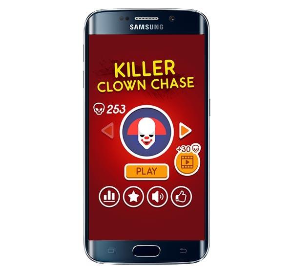 Killer Clown Chase, el juego de los macabros payasos de moda