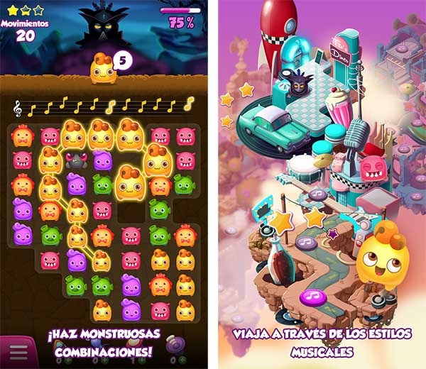 así se juega a melody monsters