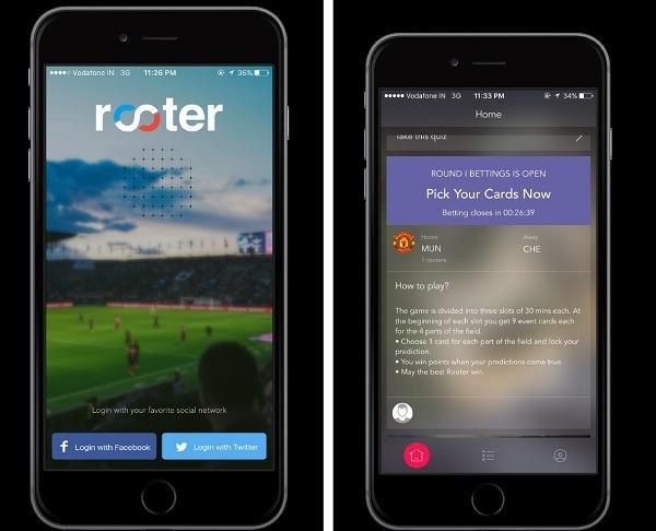 Rooter, la aplicación que pone en contacto a los amantes del deporte