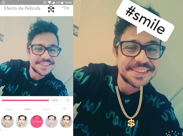 selfie candy cam