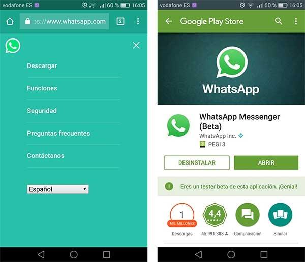 Cómo Descargar Whatsapp Si No Aparece En La Tienda De Android Play Store