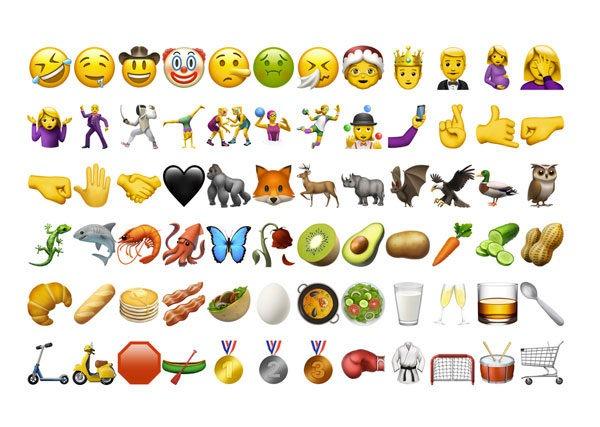 Estos son los nuevos emojis de WhatsApp en iPhone