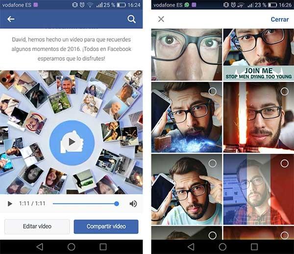 cómo editar tu vídeo resumen de facebook