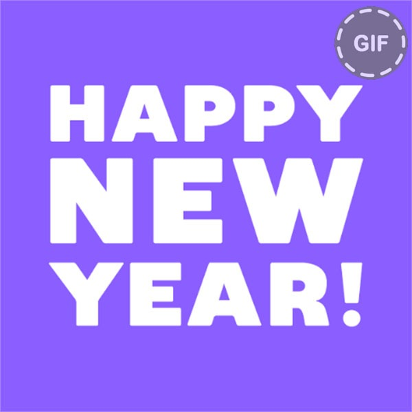Los mejores GIF para felicitar fin de año en WhatsApp