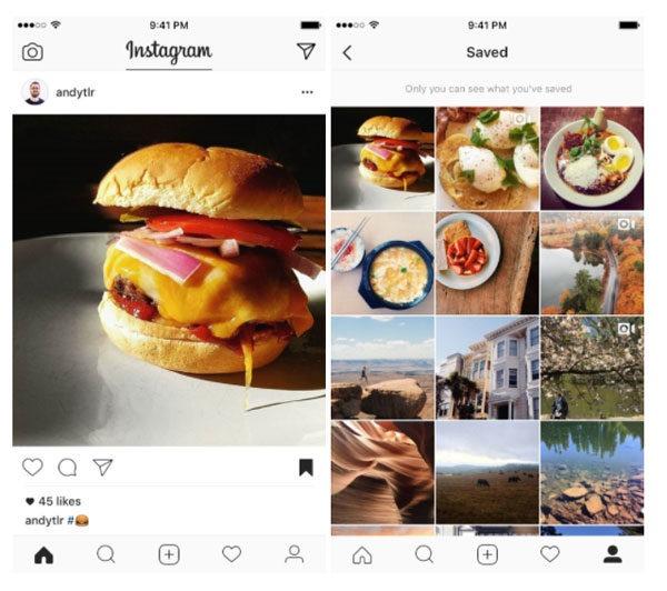 Instagram salvar para más tarde