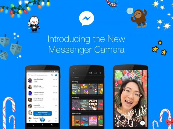 Facebook Messenger incluirá máscaras y stickers en los videos