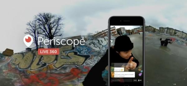 Twitter anuncia vídeo 360º en directo