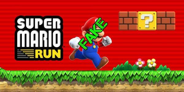 Cuidado con las versiones falsas de Super Mario Run