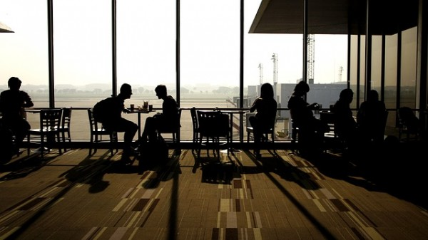 sala de espera aeropuerto