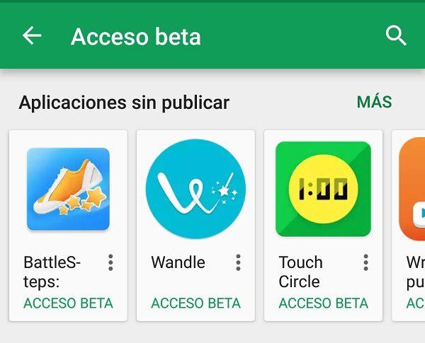 Prueba antes que nadie estas 5 apps Beta en la Play Store