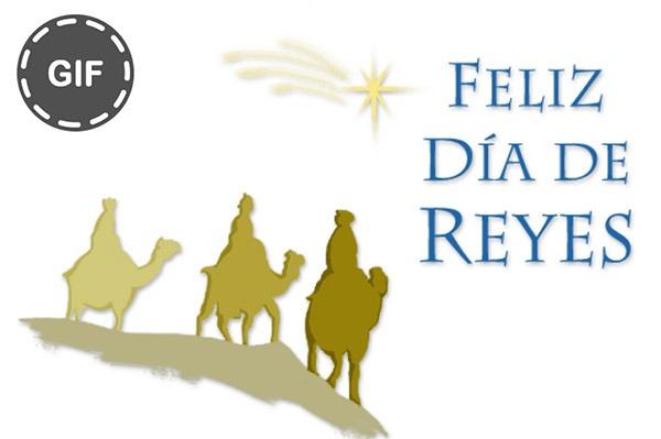 10 GIF para felicitar los Reyes Magos por WhatsApp