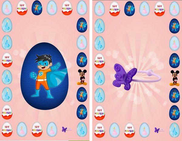 Surprise Eggs, crea tu propia colección de huevos sorpresa