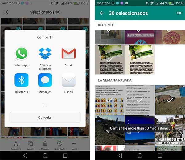 whatsapp limite videos 30