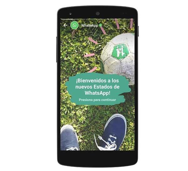Ahorra espacio borrando fotos y vídeos de Estados de WhatsApp