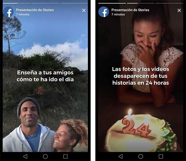 así funcionan las historias de facebook