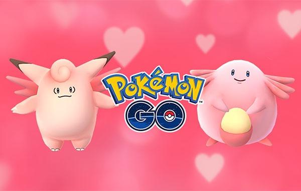 San Valentín llega a Pokémon GO en forma de nuevo evento