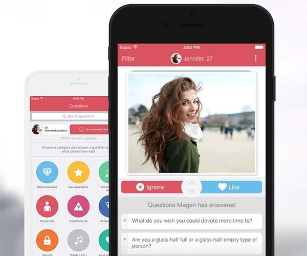 Sapio, la app para ligar que te empareja según tu inteligencia