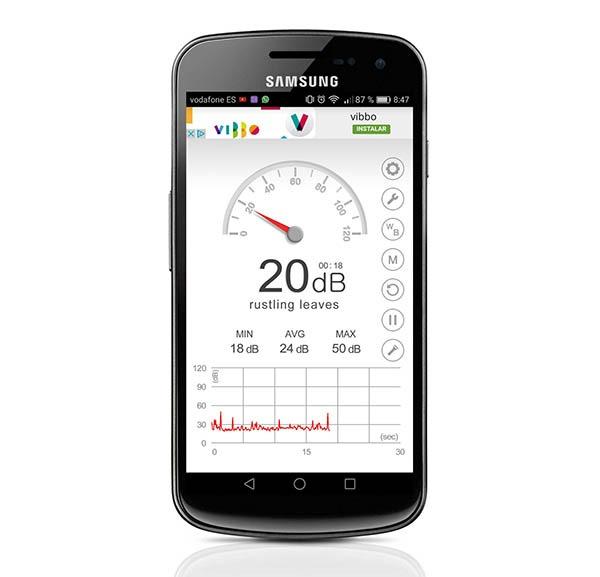 Cómo medir decibelios con el móvil
