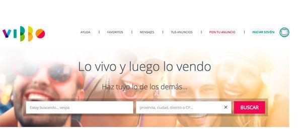 Vibbo, la app de compraventa de segunda mano mejora su chat