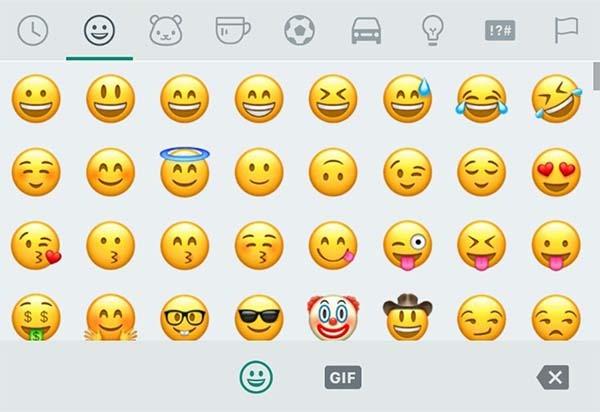 emoji nuevas caras