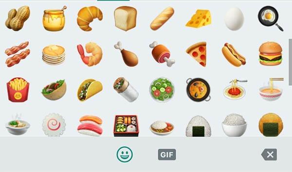 whatsapp comida