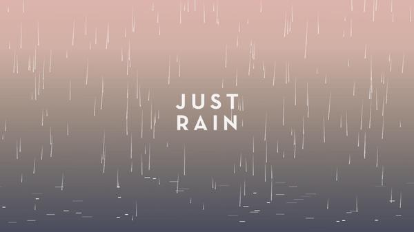 Duerme acompañado del ruido de la lluvia con esta aplicación gratis