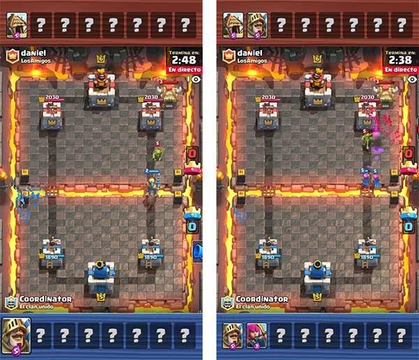 Clash Royale modo espectador