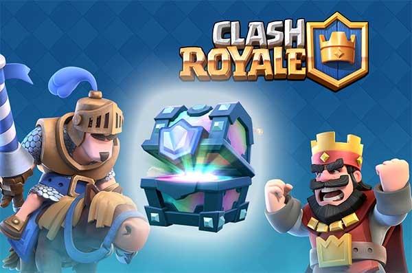 Tipos de cofres en Clash Royale y qué contienen