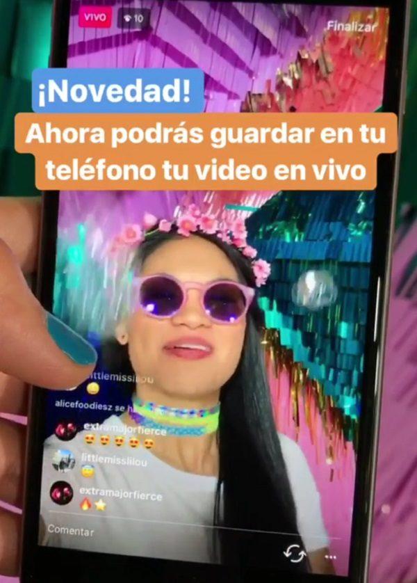 Cómo descargar vídeos en directo de Instagram 9c8dbf1a4