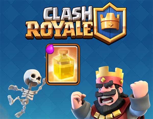 La carta de curación llega en el próximo desafío de Clash Royale