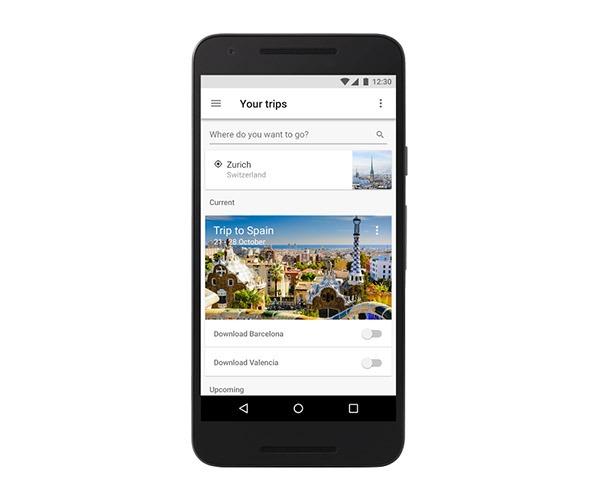 Cómo organizar tus viajes con Google Trips incluso sin conexión