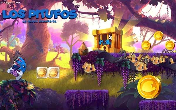 Los Pitufos Epic Run se actualiza con niveles de La Aldea Escondida