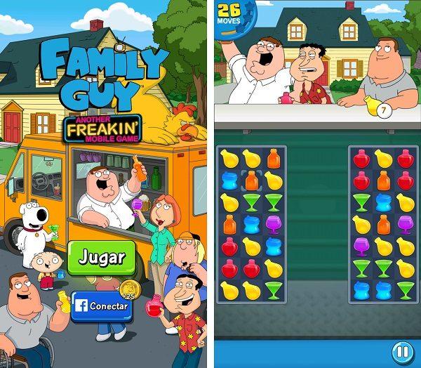 Llega a Android el Candy Crush de Padre de Familia