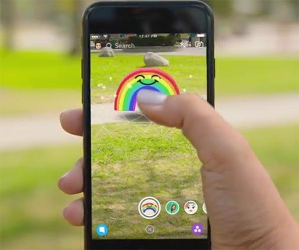 Snapchat World Lens