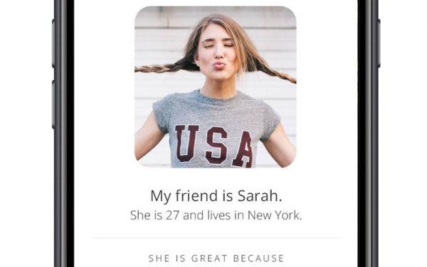 Wingman, una aplicación para buscarle pareja a tus amigos