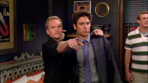 Wingman Ted Mosby