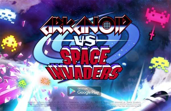 Arkanoid y Space Invaders regresan, esta vez a los móviles