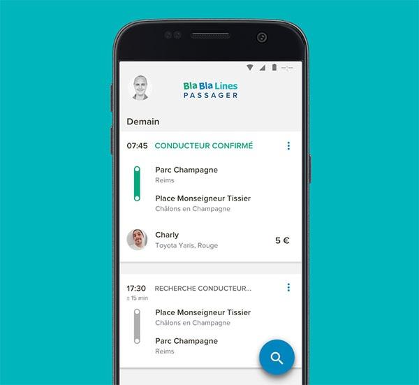 Blablacar lanza una nueva aplicación para desplazamientos diarios