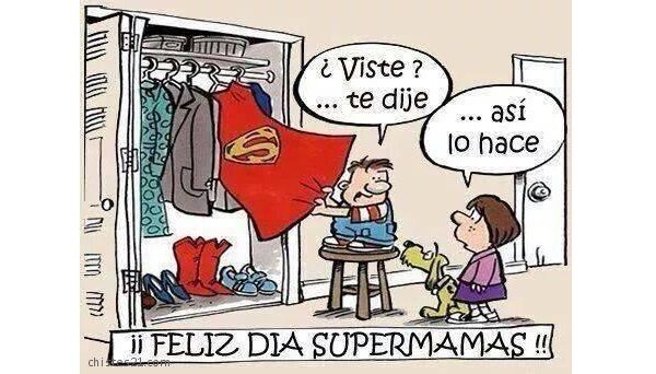 meme dia de la madre superman